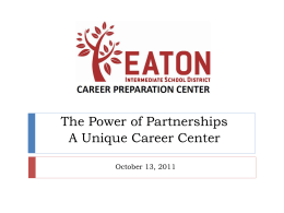 Eaton ISD Career Preparation Center