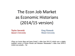 2014 EHA Job Market Talk Slides
