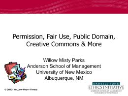 Public Domain - University of New Mexico