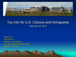 US Citizens 2014