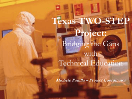 Texas TWO-STEP Project