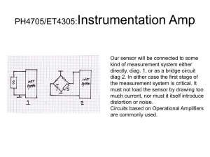 PH4705/ET4305:Instrumentation Amp