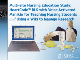 Multi-Site Nursing Education Study: HeartCode BLS