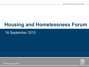Toowoomba Housing and Homelessness Forum