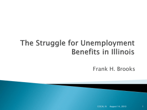 The Struggle for Unemployment Benefits in Illinois