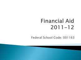 Financial Aid - Chaffey College