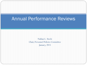 Annual Performance Reviews: are they just busy work?