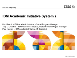 What is the IBM Academic Initiative?