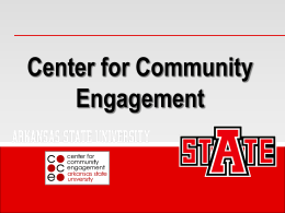 What is Evaluation? - Arkansas State University