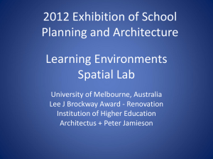 Learning Environments Spatial Lab
