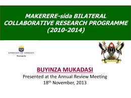 Makerere-Sida-Annual-Review-Meeting-Prof-Buyinza-DRGT