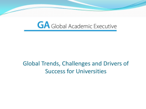 1 - Global Academic Executive