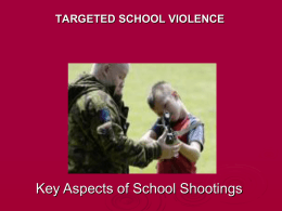 targeted school violence