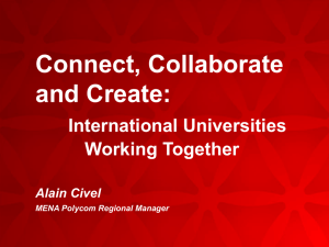 Connect, Collaborate and Create