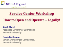 Service Centers - How to Open & Operate Legally