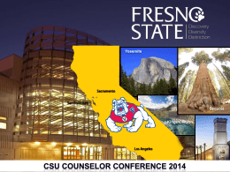Fresno State - The California State University