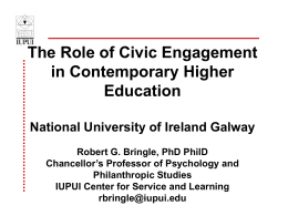Workshop PowerPoint - Campus Engage Ireland