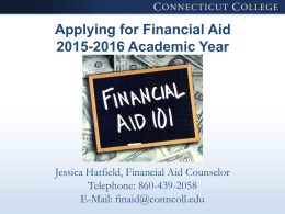 Helpful Tips When Completing the FAFSA
