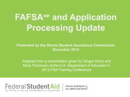 PowerPoint Presentation - Illinois Student Assistance