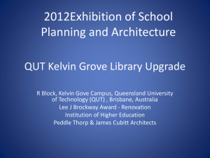 Kelvin Grove Library Upgrade