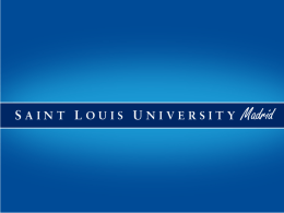 Know - Saint Louis University