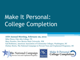Make_It_Personal_College_Completion_presentation