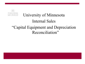 University of Minnesota Office of External Sales