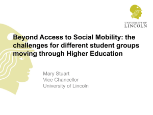 Presentation: Professor Mary Stuart