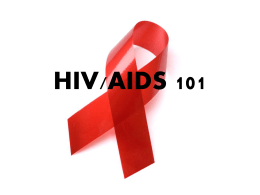 HIV 101 - AIDS Committee of York Region