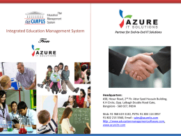 CAMPUS Education Management System