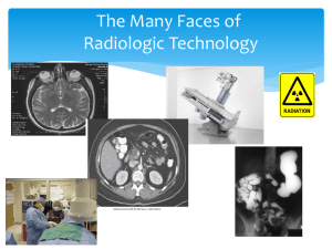 Radiologic Technology - York Technical College