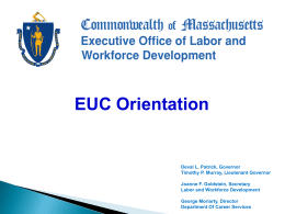 Executive Office of Labor & Workforce Development