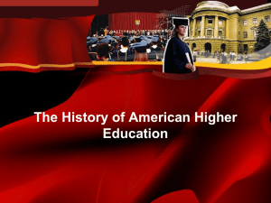 The Secularization of American Higher Education