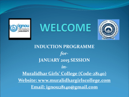 ignou-induction-january 2015