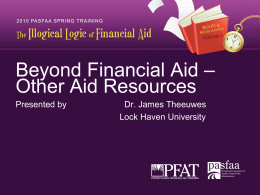 BeyondFinancialAid