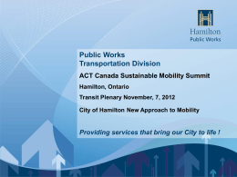 3. Christine Lee-Morrison- City of Hamilton