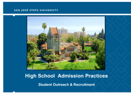 Fall 2013 - The California State University