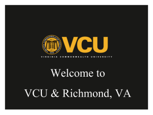 VCU slideshow - Office of the Provost