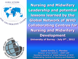 Nursing and Midwifery Leadership and potential lessons