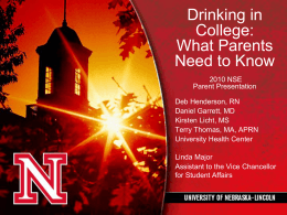 Drinking at College: What Every Parent Needs to