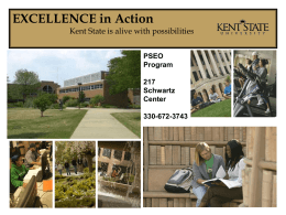 EXCELLENCE in Action - Kent State University
