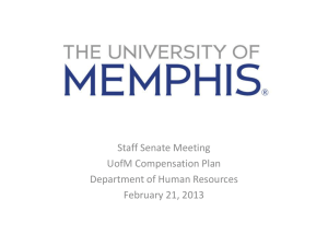 PowerPoint - University of Memphis