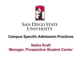 San Diego - The California State University