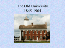 The History of SFASU