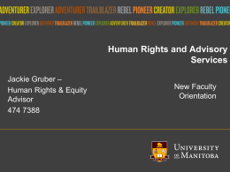 Human Rights & Advisory Services