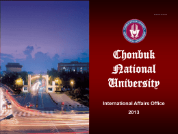 Chonbuk National University