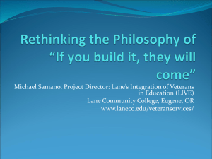 "Rethinking the Philosophy of ""If you build it, they will come"""
