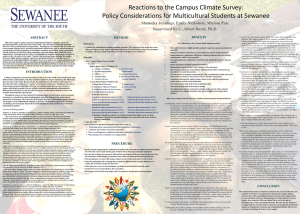 Reactions to the Campus Climate Survey: Policy