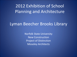Lyman Beecher Brooks Library