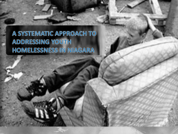 PPT - The Homeless Hub